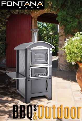 Fontana Pizza Oven Divino 80   BBQ's & Outdoor
