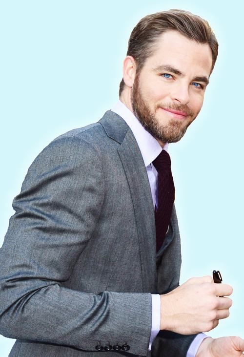 Chris Pine.   SubCategory: Suit Porn.