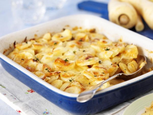 Aardappelgratin met pastinaak - Libelle Lekker!