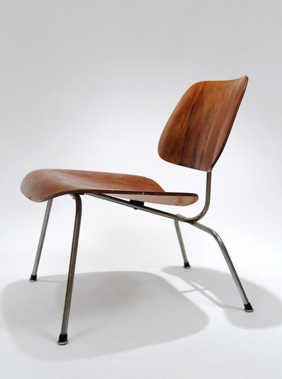 Original Charles  Ray Eames LCM chair from the 1950s Herman Miller