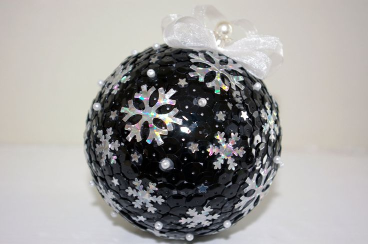 Sequin ornament ball Christmas ornament   Christmas by MyArteasure, $20.00