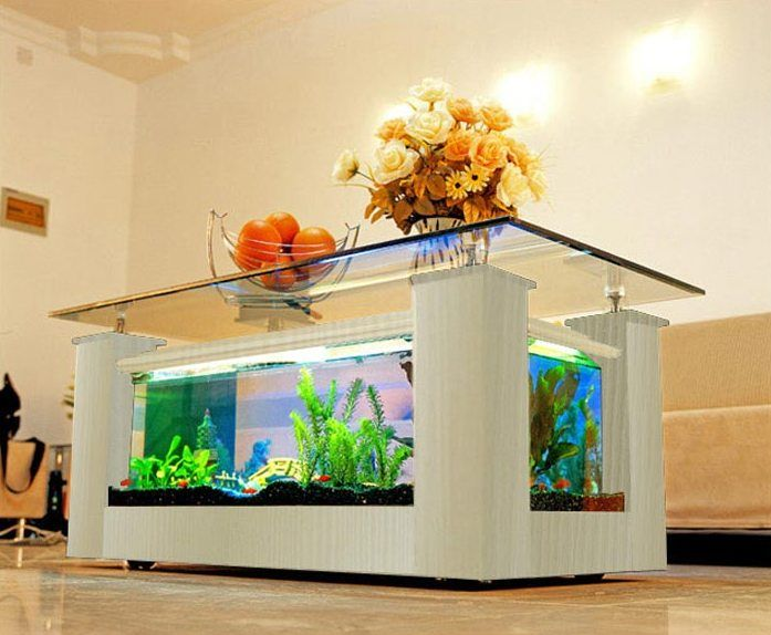 Best 25 modern fish tank ideas on pinterest small fish for Fish tank table
