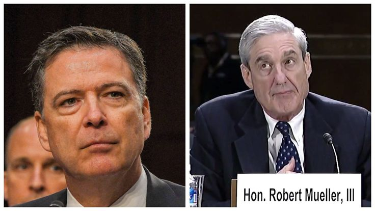 Dirty Cops Robert Mueller & James Comey Held Secret Meeting Before Comey Testified Before Congress