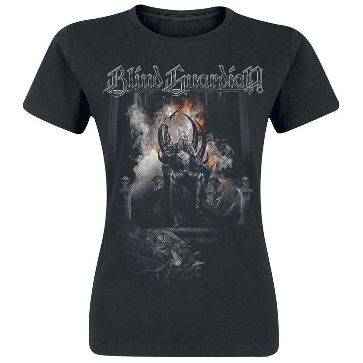 """Blind Guardian T-Shirt, Frauen """"Overlord"""" schwarz • EMP"""