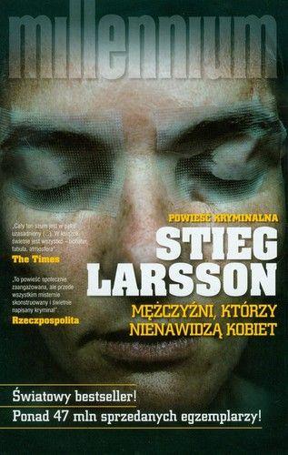 """Stieg Larsson """"Mężczyźni, którzy nienawidzą kobiet"""" Dziennikarz i wydawca magazynu """"Millennium"""" Mikael Blomkvist ma przyjrzeć się starej sprawie kryminalnej sprzed czterdziestu lat, kiedy zniknęła bez śladu Harriet Vanger. Do pomocy dostaje Lisbeth Salander, młoda , intrygującą outsiderkę i genialną researcherkę. Blomkvist i Salander tworzą niezwykły team. Wspólnie szybko wpadają na trop mrocznej i krwawej historii rodzinnej."""