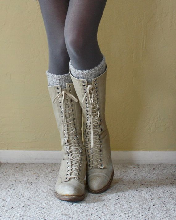 1930's lace up boots
