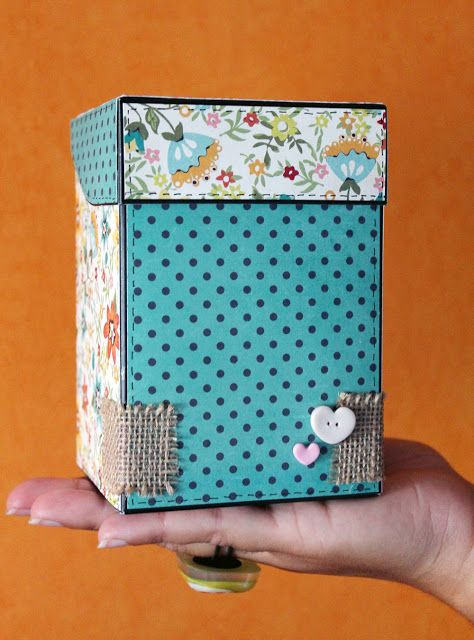 Papers Trencats: TUTORIAL. / Caja de Papel. / DIY paper box. Handmade. Crafts. Artisan. Creative.