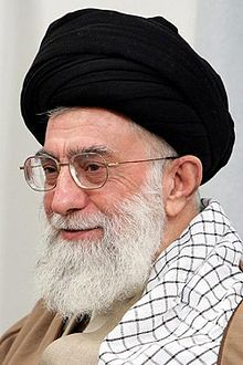 Ali Hosseini Khamenei (Persian: علی حسینی خامنهای pronounced [ʔæˈliː hoseiˈniː xɒːmeneˈʔiː] ; born 17 July 1939) is the second and current Supreme Leader of Iran and a Shia Cleric. Ali Khamenei succeeded Ruhollah Khomeini, the leader of the Iranian Revolution, after Khomeini's death, being elected as the new Supreme Leader by the Assembly of Experts on 4 June 1989. His tenure as Supreme Leader has been marked by several major protests in Iran, such as Iran student protests, ...