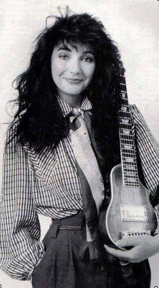 Image result for kate bush playing guitar