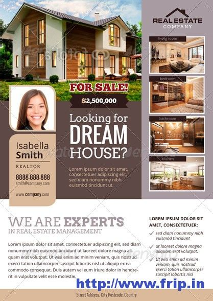 31 best Property Design images on Pinterest Flyer design, Real - home sale flyer template