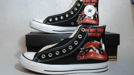 Rocky Horror Picture Show benutzerdefinierte Converse All