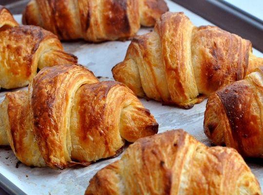 It's all about the layers - or laminations. This recipe gives directions for the perfect French Croissant