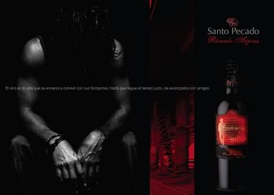 Santo pecado el vino de Ricardo Arjona