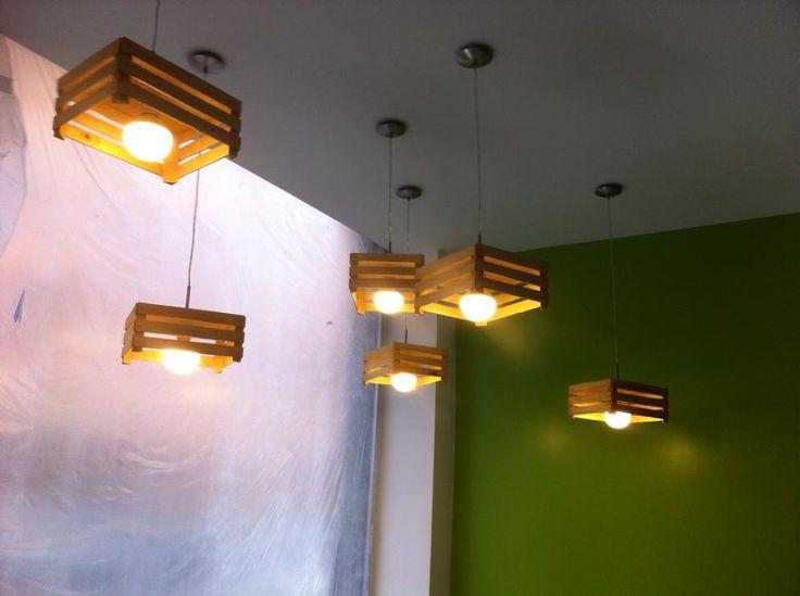Work in progress for Salad Bar in Bergamo, Italy - design archiLAURA