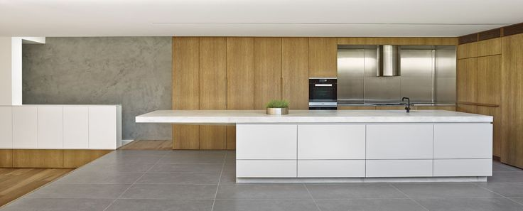 Birchgrove Project: Kitchen and Concrete Island