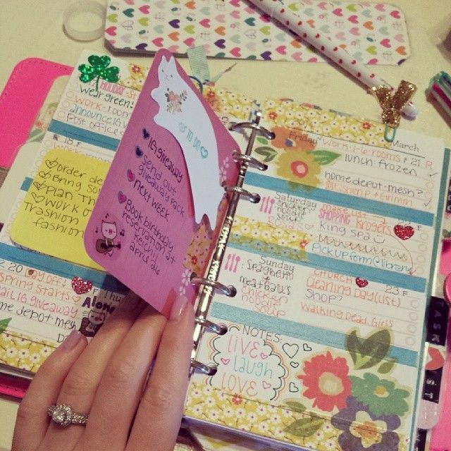 #ShareIG This week's aftermath - it was a busy one! #filofax #filofaxaddcited…