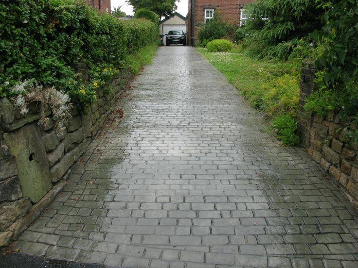 Northern Cobblestone - Driveways Burnley / Concrete Driveways Burnley / Pattern Imprinted Concrete Burnley