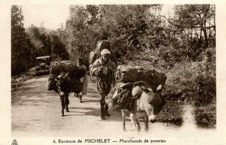 Cartes Postales Divers (1900-1930)/Cartes Scènes et Types/Types Kabyles/Michelet-Poteries