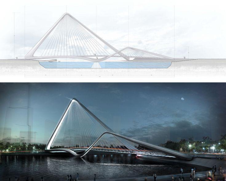 Infinity Loop Bridge, Zhuhai Shizimen Bridge