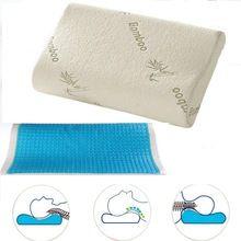 Memory Foam Orthopedic Sleep Blue/White Cooling Comfort Gel Bed Pillow Cushion Memory cotton Memory Foam Pillow //Price: $US $11.50 & FREE Shipping //