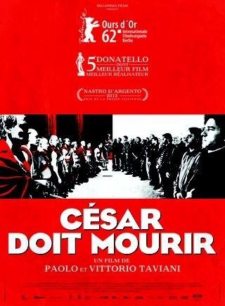 Cesar doit mourir - Affiche francaise