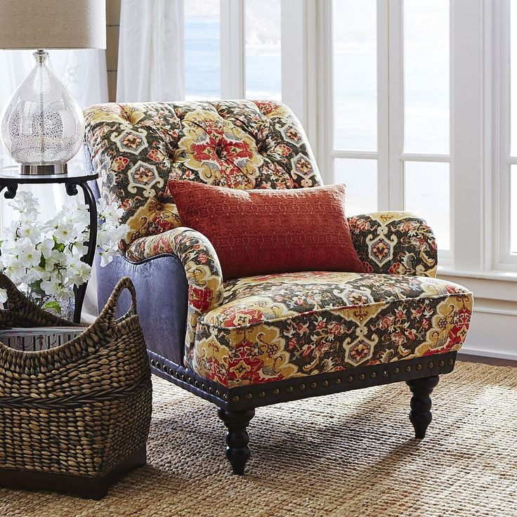 Pier One Furniture Quality: Chas Armchair - Charcoal