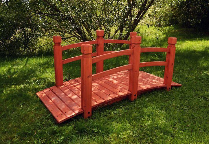Mostek drewniany na ogród - BioPeak