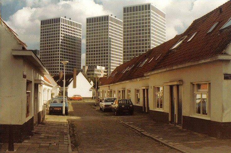 Het Witte Dorp met Europoint - Rotterdam
