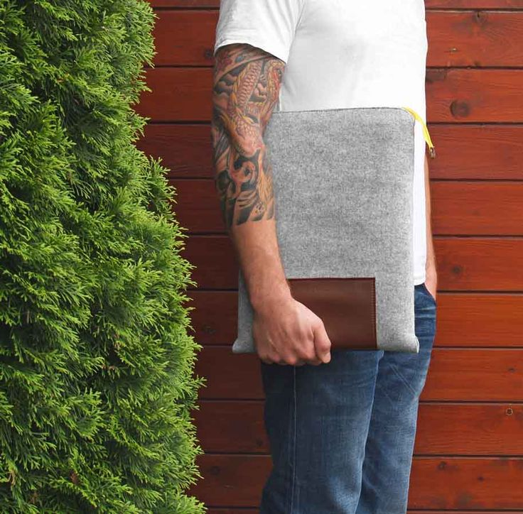 felt laptop case #laptop #case #men #cover