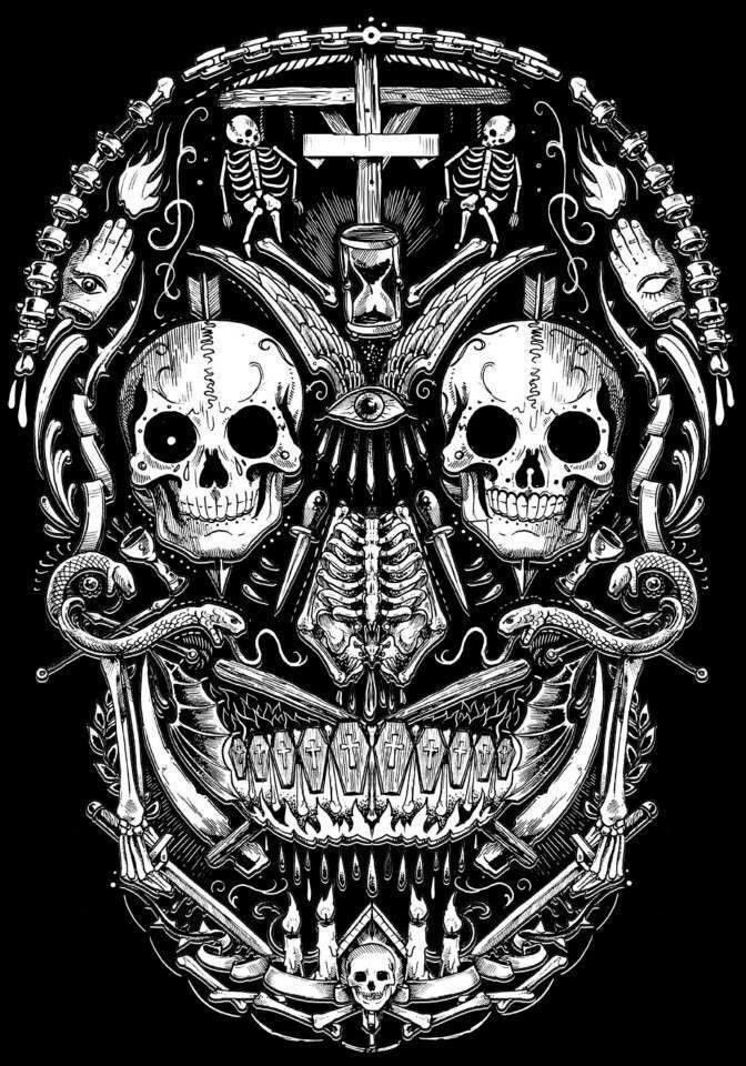 #skulls DJBOY JIMENEZ BNN MIX