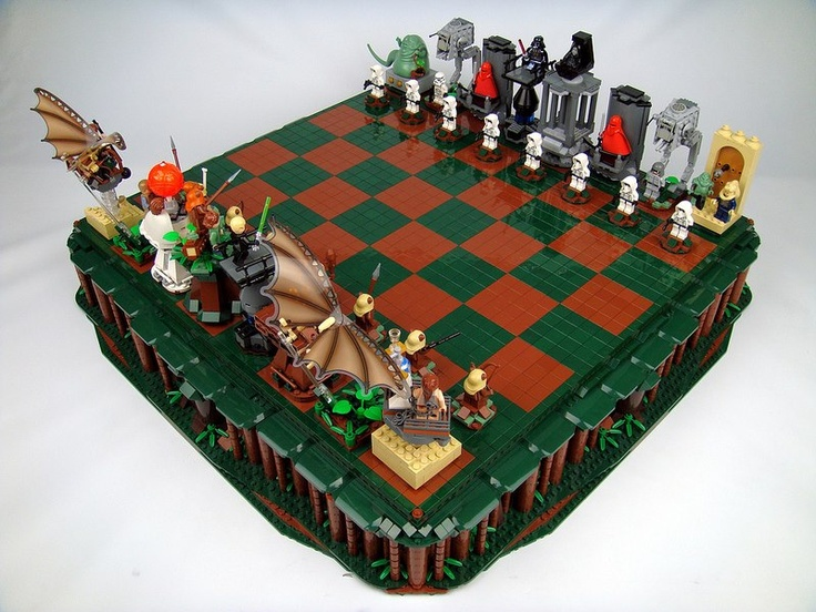 · Star Wars: Return of the Jedi Lego Chess by Brandon Griffith ·