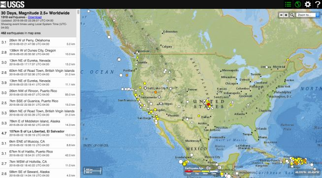 Best 25 Usgs earthquake map ideas on