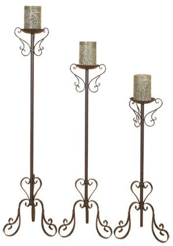 Best 25 floor candle holders ideas on pinterest tall for Floor candle holders
