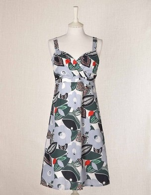 Boden Strappy Beach Dress. Note to self: visualize all those patterns in PRINTS #boden #dress