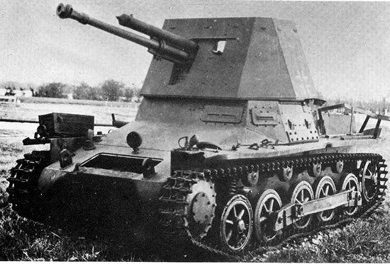 Panzerjäger I pierwszy niemiecki niszczyciel czołgów zaprojektowany i zbudowany w okresie II wojny światowej z kal. 47 mm.