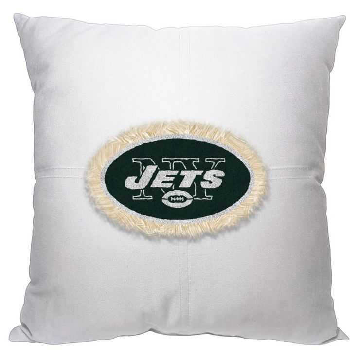 Decorative Pillow NFL Jets Multi-colored