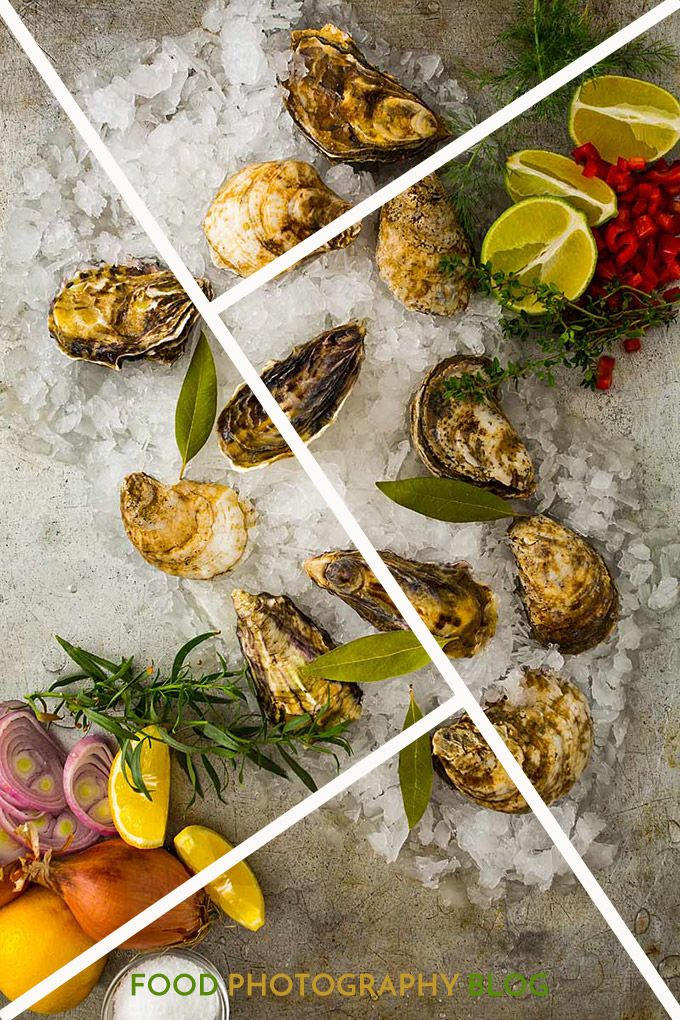 Food Photography Composition Using The Golden Triangle