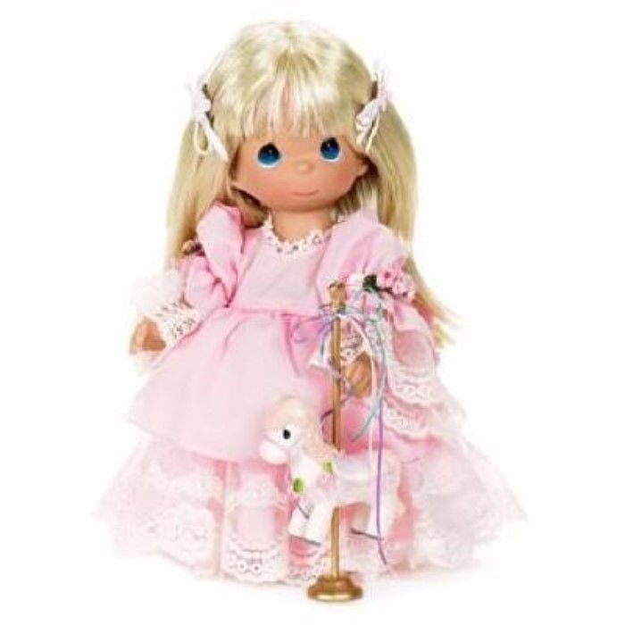 Precious Moments Doll Friends.. World Go 'Round, 12 inches high, Blonde, 4430 #PreciousMomentsDollCollection #Dolls