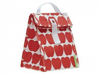 lunchtote - lunchtasje (red apple)