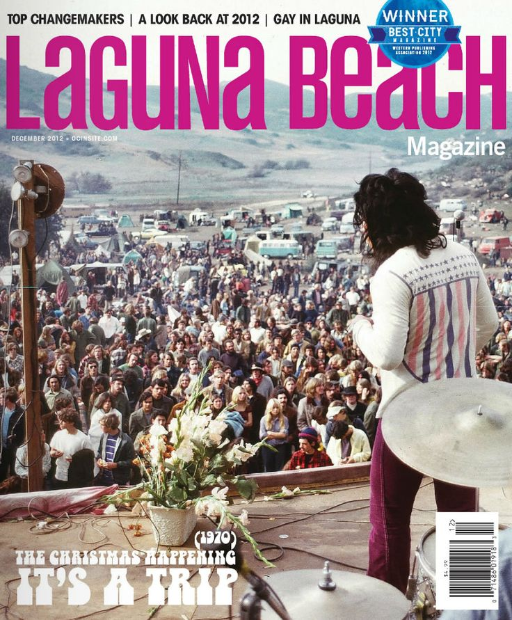 Meet 10 of the town's most influential locals, take a trip back to the 1970 Christmas Happening and explore gay life in Laguna Beach.  Plus, hit the slopes with our annual ski guide and throw a holiday bash with tricks of the trade from a local event planner. #Laguna #LagunaBeach #LagunaBeachMagazine #California #OrangeCounty #Beach #Ocean #Holidays #Winter #Skiing #Events