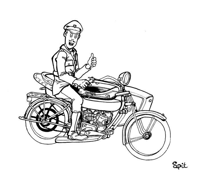 Capitaine Murdock dans la série BD BISHOT- illustration david voileaux copyright