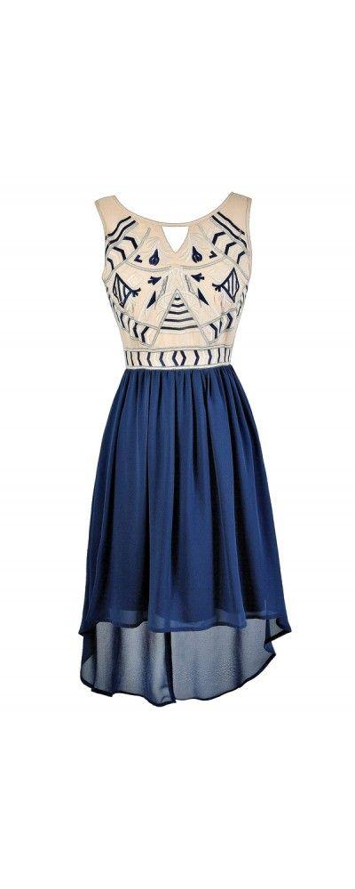 25  best ideas about Blue summer dresses on Pinterest | Summer ...