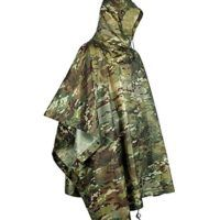 Camouflage Festival Poncho £14.50