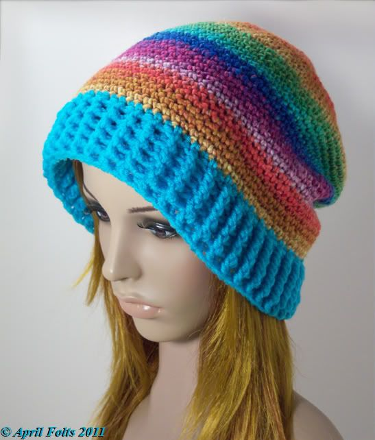 Plain Slouch Hat free pattern-: Hat Crochet Patterns, Slouchy Hat, Crochet Hats, Crochet Slouchy Beanie Pattern, Cowls Hats Scarves, Hat Patterns, Crotchet Patterns, Slouchy Beanie Hats, Slouch Hats