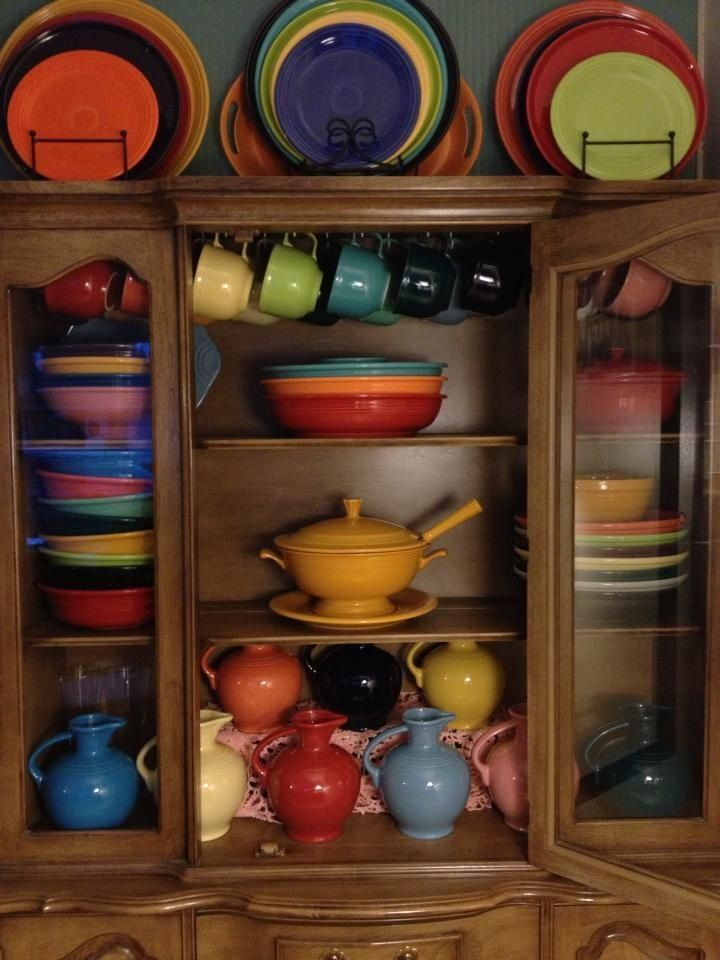 17 Best Images About Fiestaware Display Ideas On: 17 Best Ideas About Fiesta Kitchen On Pinterest
