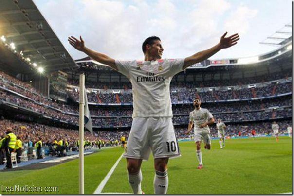 James Rodríguez iluminó al Real Madrid - http://www.leanoticias.com/2015/04/29/james-rodriguez-ilumino-al-real-madrid/