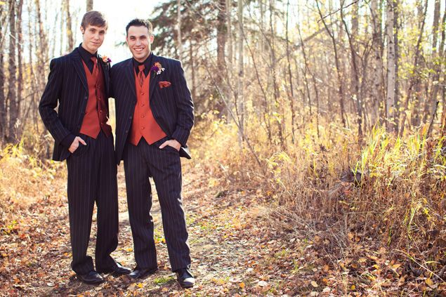 Fall Groomsmen attire - PHOTO SOURCE • JUST FOR YOU PHOTOGRAPHY