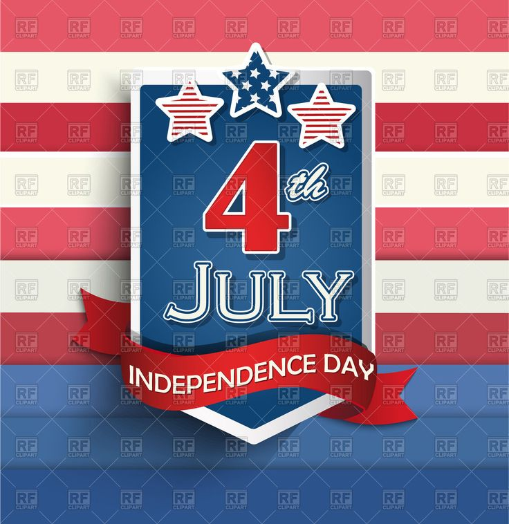 Vector image of 4th of july American independence day badge #145119 includes graphic collections of Independence day. You can download this image in EPS and JPG format.