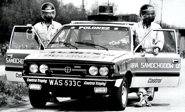 polonez '80 narex safety car