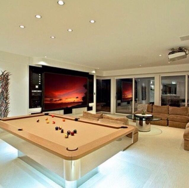 Attractive Modern Games Room